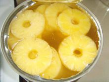 Pineapple (cut circle sliced)